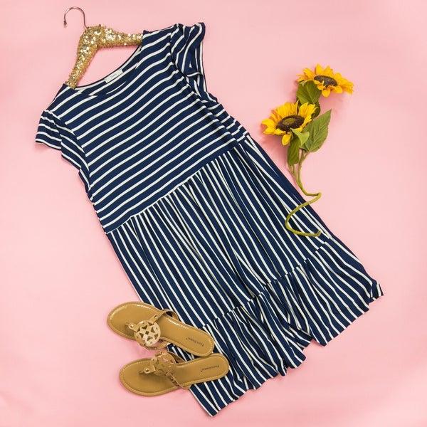 Navy Babe Dress