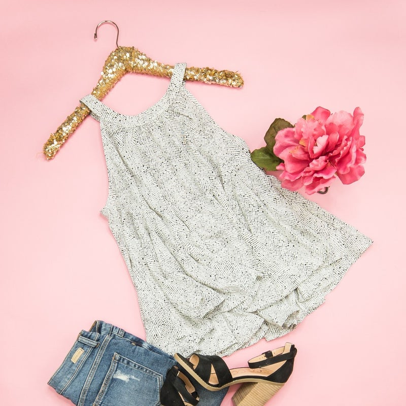 Flowy and Flattering Blouse  *all sales final*