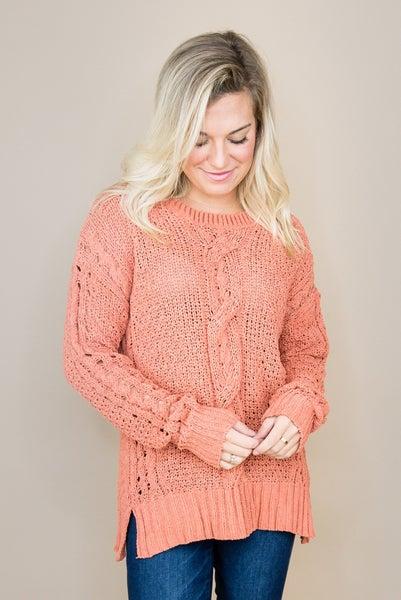 Braided Fall Sweater(repost)