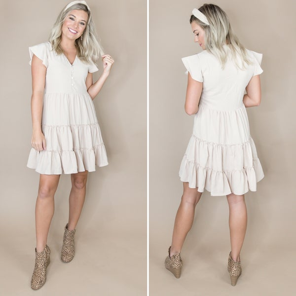 Darling Button Dress *all sales final*