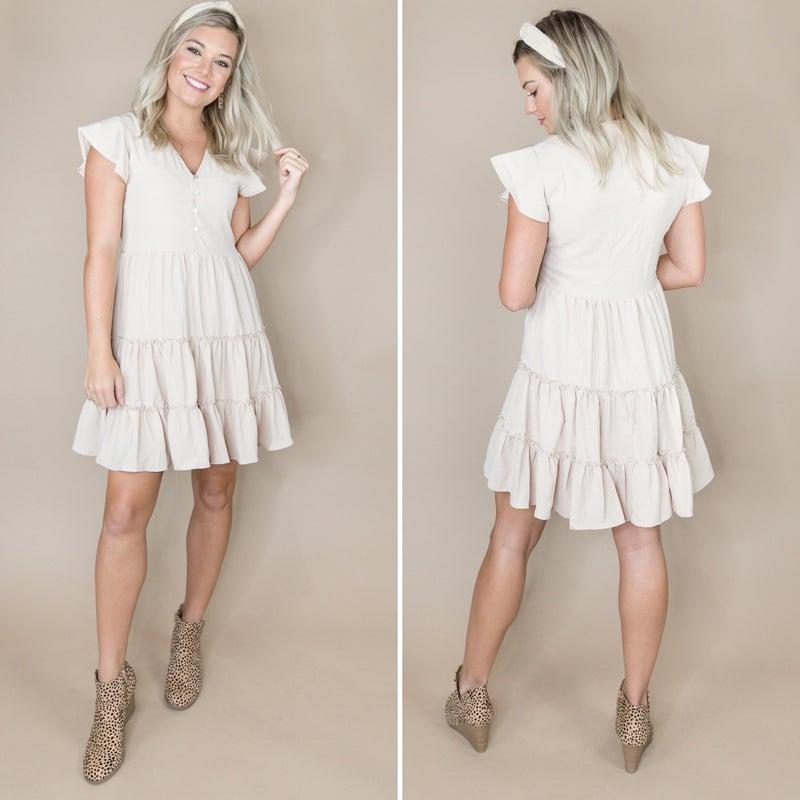 Darling Button Dress