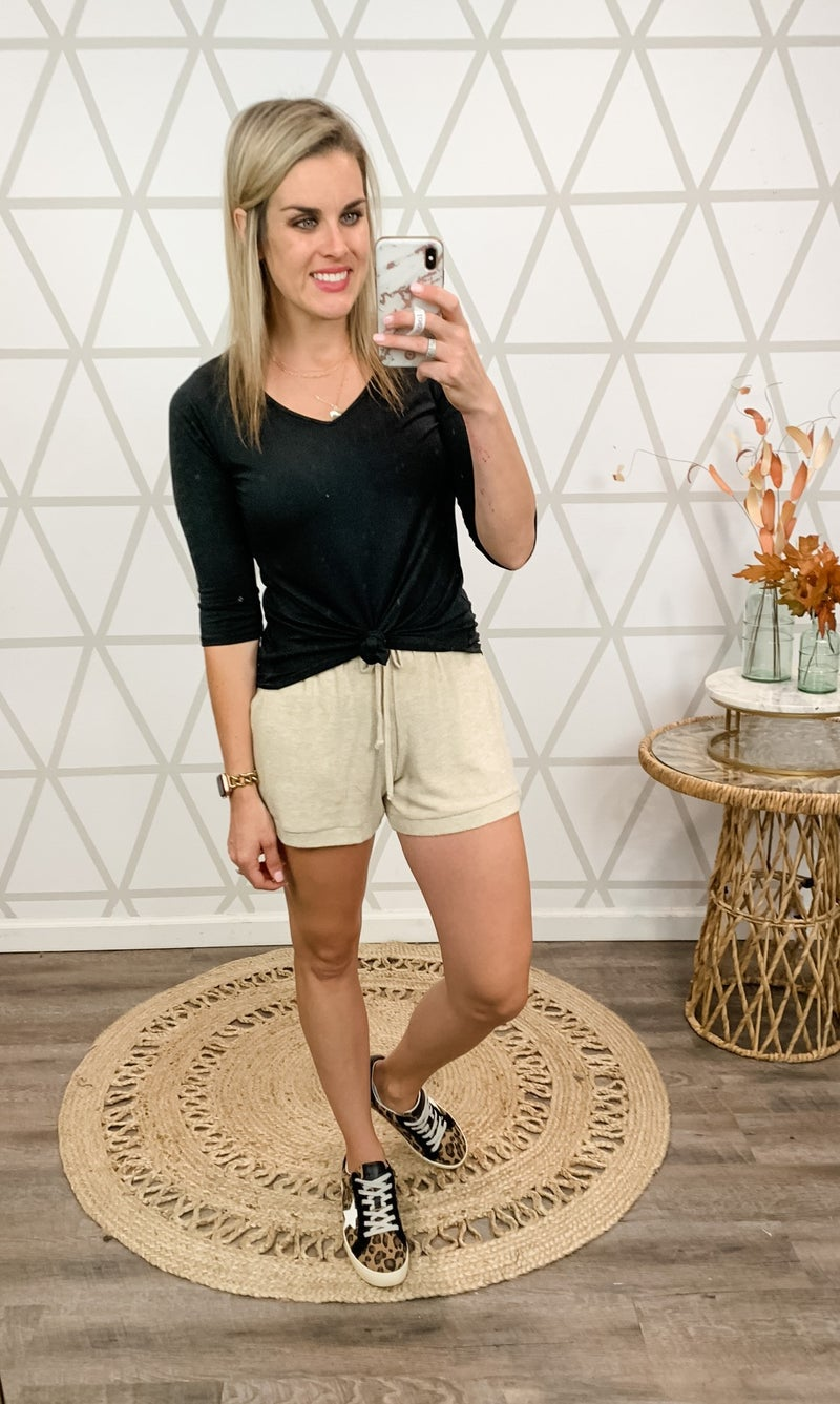 Plush Lounge Shorts *ALL SALES FINAL*