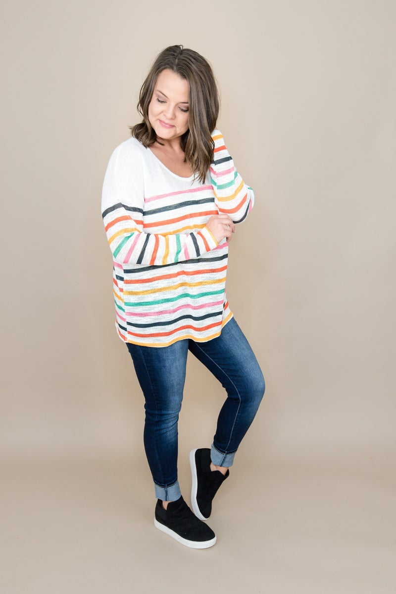 Brightest Stripes Tee