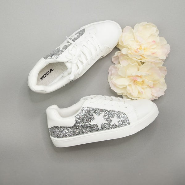 Silver Star Sneakers
