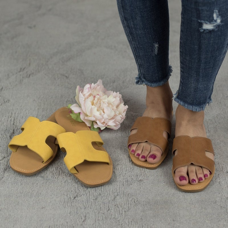 Everyday Flaunt Sandal *ALL SALES FINAL*