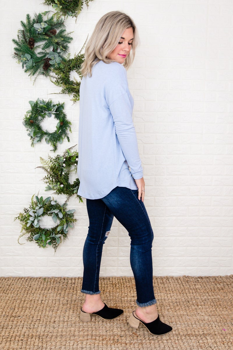 Perfectly Blue Simple Tee