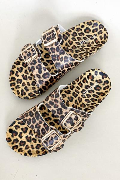 You're a Delight Leopard Sandal
