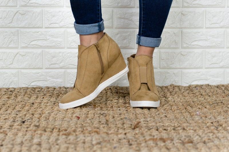 Fall Updated Sneaker Wedge