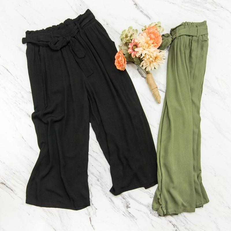 Free & Easy Capri Pants *all sales final*
