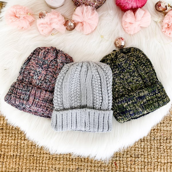 CYBER MONDAY // High Pony Beanie  *all sales final*