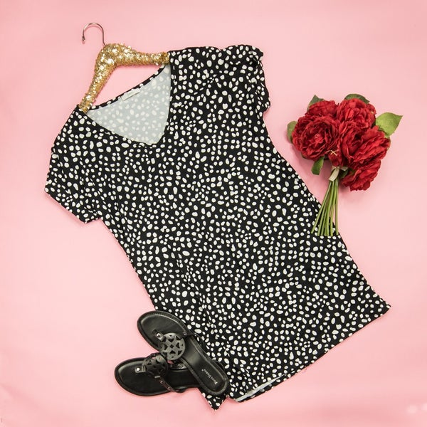 Spotty Dot Boyfriend Dress