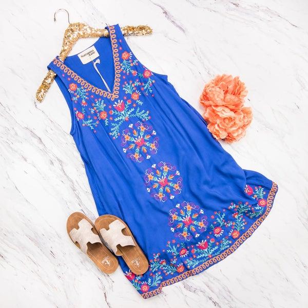 Salsa Cobalt Dress