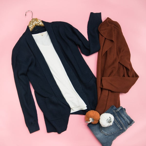Simple Days Cardigan *ALL SALES FINAL*