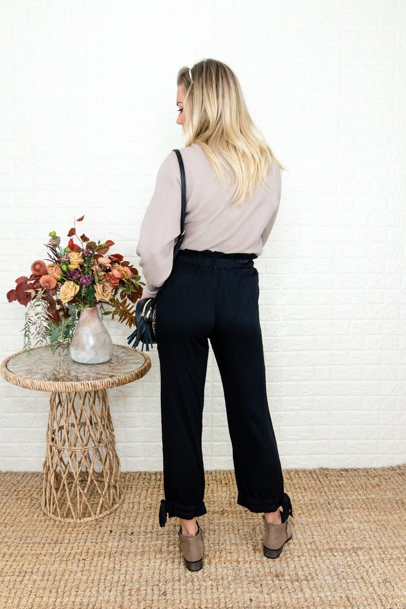Fancy Bow Tie Pants