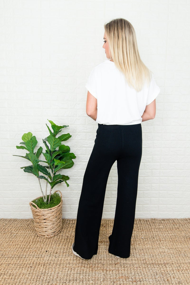 Coziest Ribbed Lounge Pants *ALL SALES FINAL*
