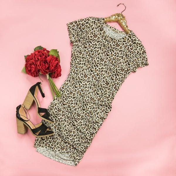 Flirty Leopard Dress
