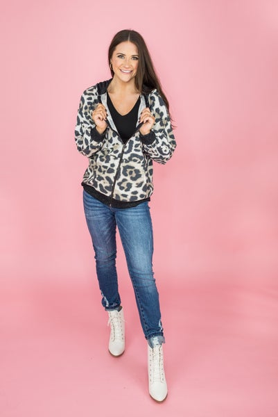 Light Leopard Jacket *all sales final*