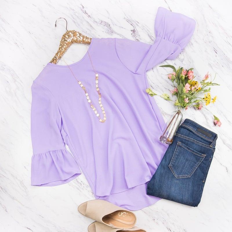 Lavender Bell Blouse
