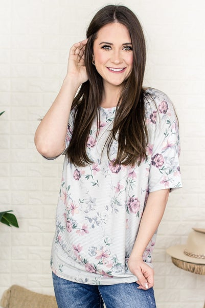 My Spring Style Floral Tee *Final Sale*