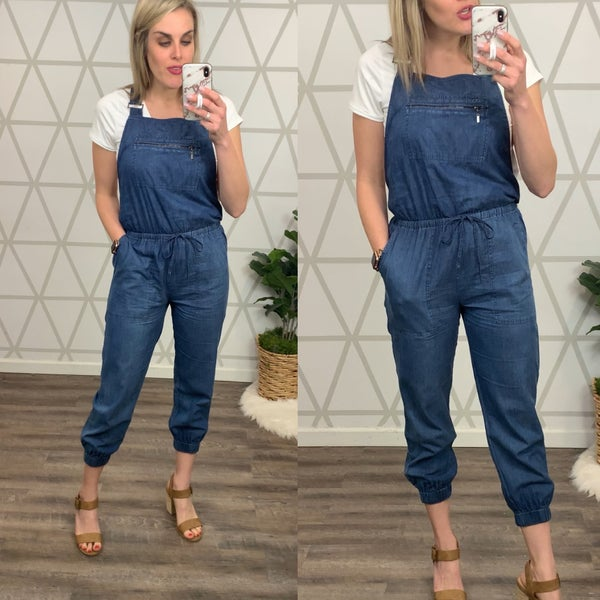 Bibi Denim Jumpsuit