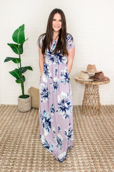 Spring Inspired Floral Maxi
