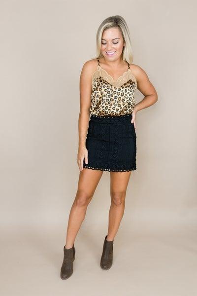 Sassy & Lace Leopard Tank *all sales final*