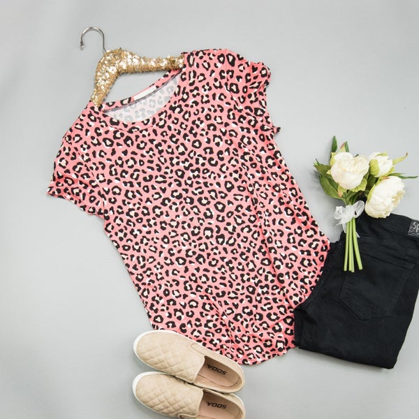 Leopard & Love Blouse