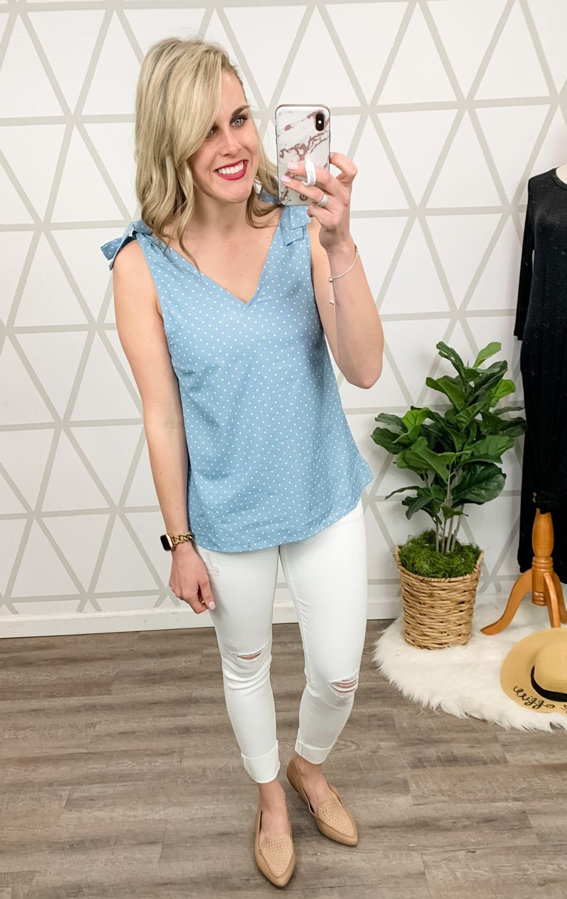 Andree Bow Tie Top