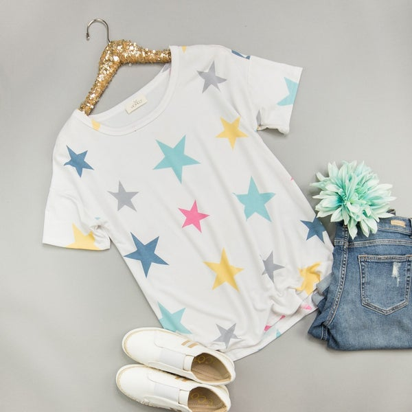 Color Bright Star Top