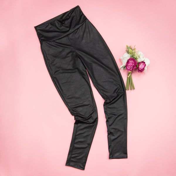 Faux Leather Leggings *ALL SALES FINAL