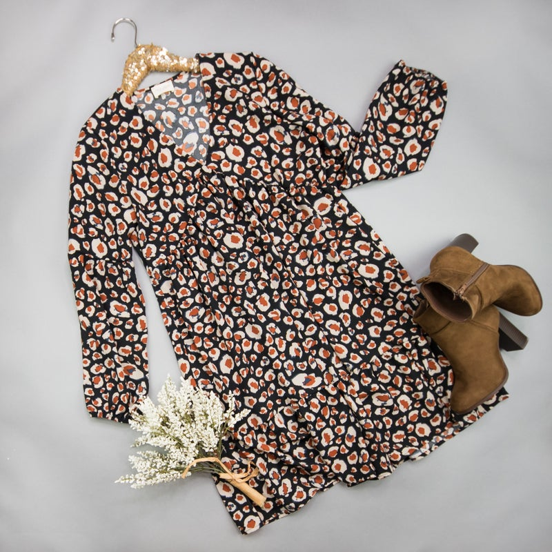 Animal Print Dress *ALL SALES FINAL*