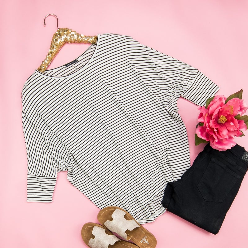 Flaunt Striped Top
