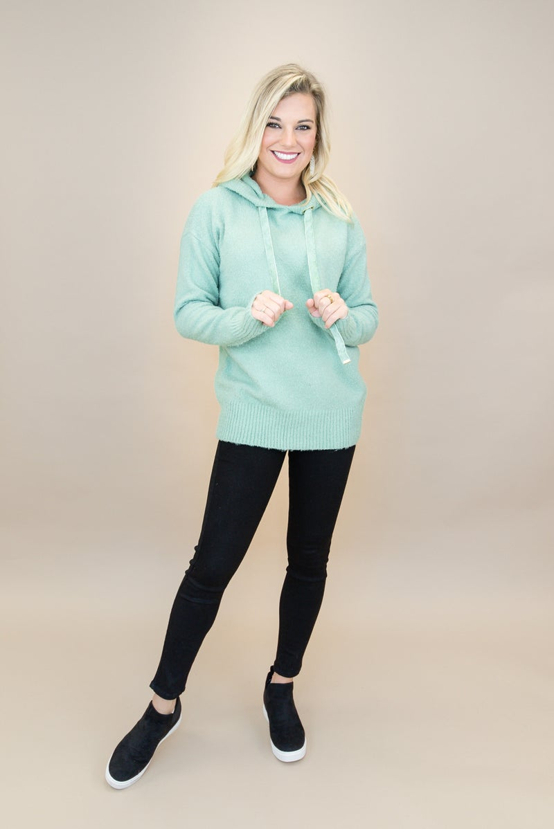 Velvet Detailed Sweater *all sales final*