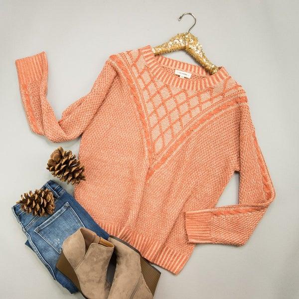 Cutest Orange Sweater