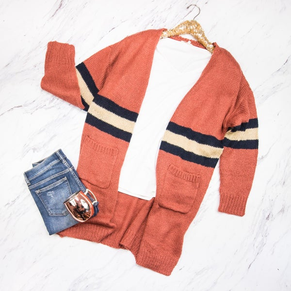 Colors of Fall Duster Cardigan *ALL SALES FINAL*