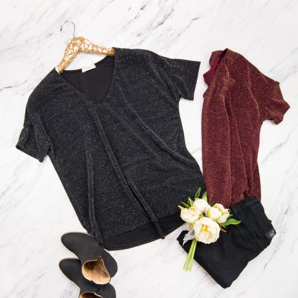 Holiday Sparkle Tee *all sales final*