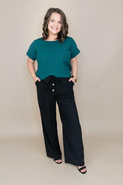Classy & Black Bowtie Pants