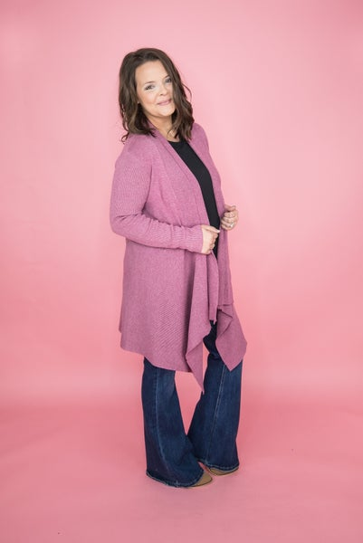 Allie Rose Waterfall Cardigan  *all sales final*