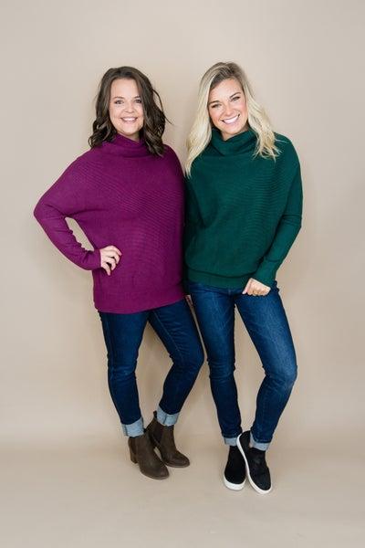 Cozy & Warm Cowl Sweater