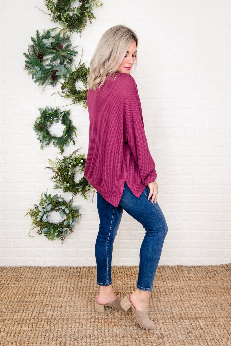 Berry Waffled Top