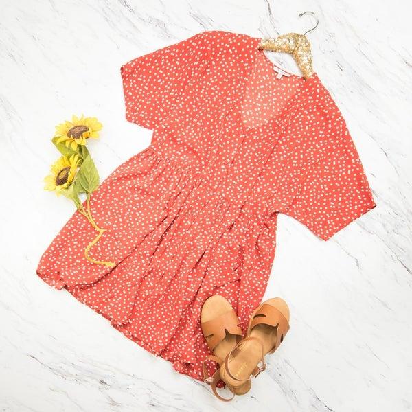 Sweet & Red Dress