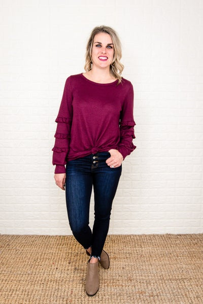 Party Ruffle Top