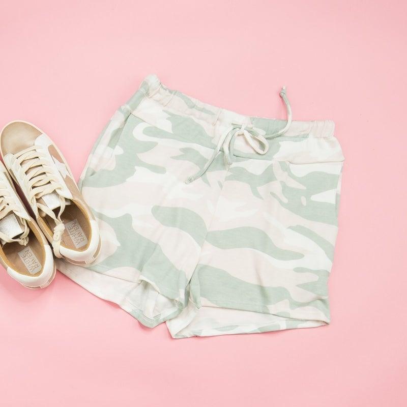 Summer Camo Lounge Shorts