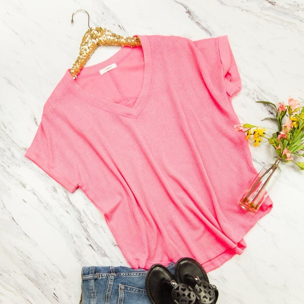 Pink So Bright Top