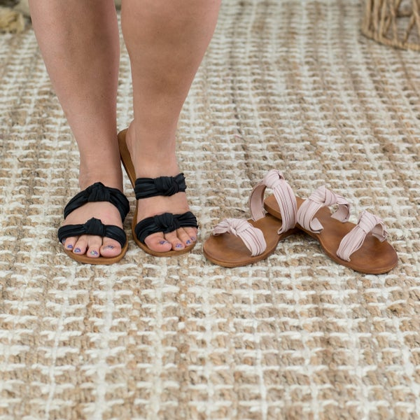 Here For You Knot Sandal