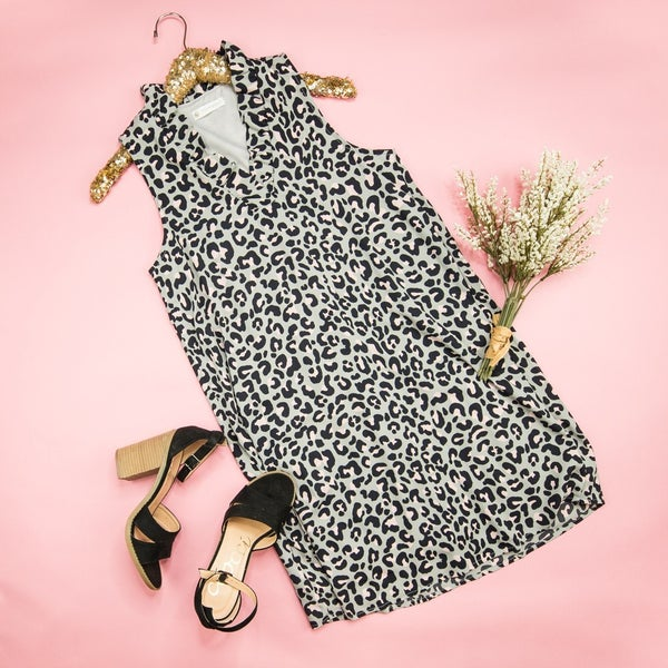 Steal My Heart Leopard Dress