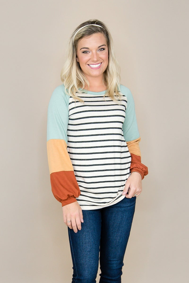 Fall Color Party Top