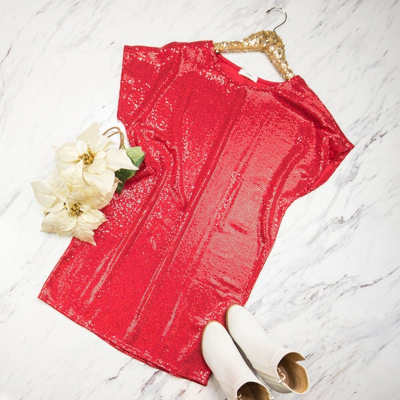Red Statement Dress *ALL SALES FINAL