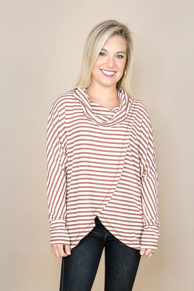 Layover Striped Top