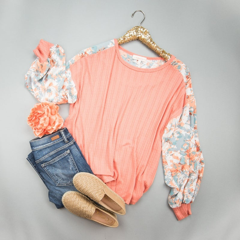 Spring Party Top  *all sales final*